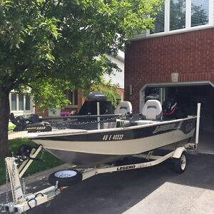 16.4ft Legend 164 Xpress Side Console Fishing Boat