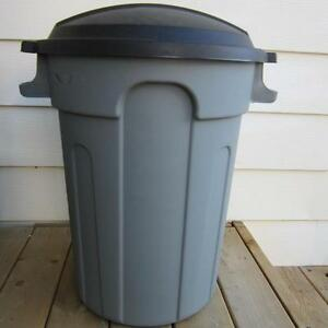 NEEDED: Grey 80L Gracious Living Brand Garbage Cans