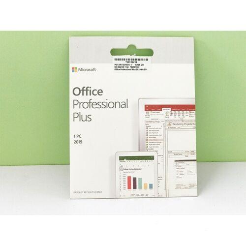 Original Microsoft Office 2019 Professional Plus 64 Bit 1-PC