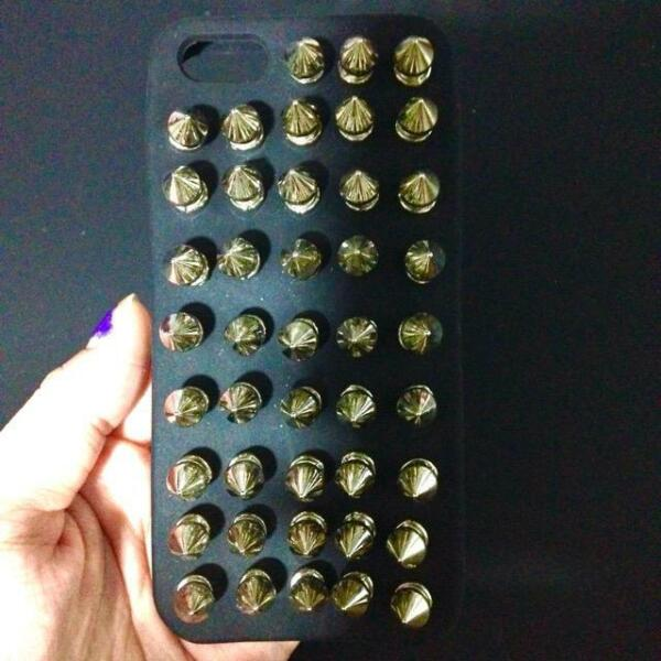 iphone 5 5s casing cover new rivet