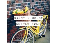 YORK | Live In Housekeeper Nanny | Private Accommodation - Self Contained Annex