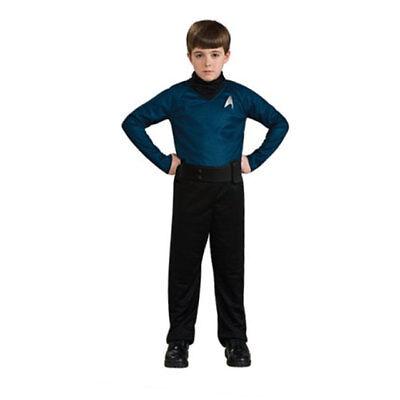 RUBIE'S STAR TREK THE MOVIE SPOCK ACTION COSTUME BOX SET BOYS SMALL NEW!! - Box Boy Kostüm