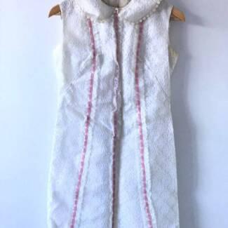 Vintage 1960s White Lace Dress