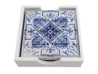 Set of 4 Moroccan design coasters - brand new