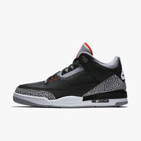 Nike air Jordan 3 black and cement deadstock size 11