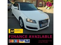 3 YEAR Warranty & AA Cover - Audi A3 2.0 TDi DIESEL Cabriolet-Recent Cambelt Change-NO Advisory MOT