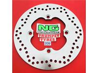 Rear Brake Disc Rotor Buell CYCLONE M2 LIGHTNING X1 S1 THUNDERBOLT S3 S3T 98-02