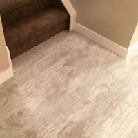 Flooring Laminate Hardwood Vinyl Tile Baseboards Installation