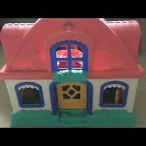 Fisher price little people house and extras