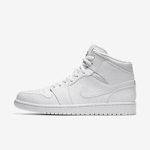Nike Air Jordan 1 Mid - White (Size 11) Adelaide CBD Adelaide City Preview