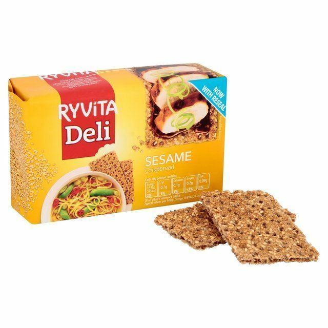 Ryvita Crispbread with Sesame Seed - 250g