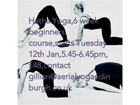 Hatha Yoga 6 week beginners course