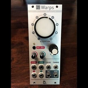 Eurorack modules - mutable instruments, make noise and doepfer