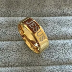 Look so real gold plated rings ( new)