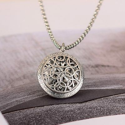 Halskette Medaillon Kelten Kreuz Celtics Amulett Rund Silber Foto Ritter Antike Celtic Medaillon Halskette