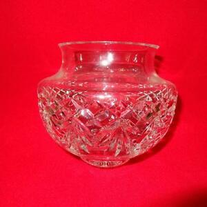 WATERFORD CRYSTAL VASE/BOWL -