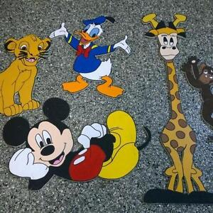 Mickey mouse, lion king, Donald, Disney, curious george