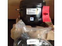 Whirlpool Refrigerator Compressor. Embraco EGU 90HLC. 220 - 240v. 50 - 60 Hz