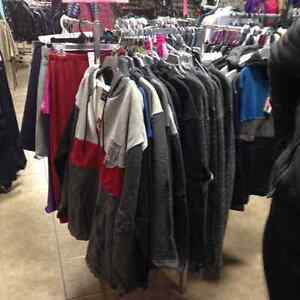 50% OFF SALE OF ALL CLOTHING IN STOCK
