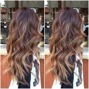 Clip in 100% Remy Human Hair Extensions 20 inch