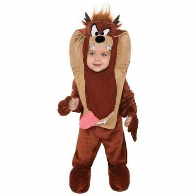 Infant Toddler Looney Tunes Baby Taz Romper - Taz Looney Tunes Kostüm