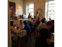 City Centre Restaurant -Bar/Floor person - 16 hours plus per week