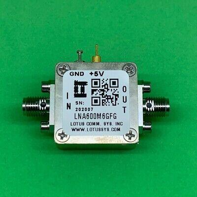 Broadband Low Noise Amplifier 0.9db Nf 600m6ghz 21db Gain 2db Flat Gain
