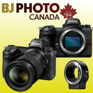 NIKON Z6- Z7 MIRRORLESS*STARTING APRIL 26TH* SPECIAL BUNDLES WITH REDUCED PRICES