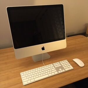 "20"" iMac - Mint Condition, 240GB Solid State Hard Drive, 4GB RAM"