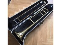 Rudall Carte Trombone with Two Mouthpieces