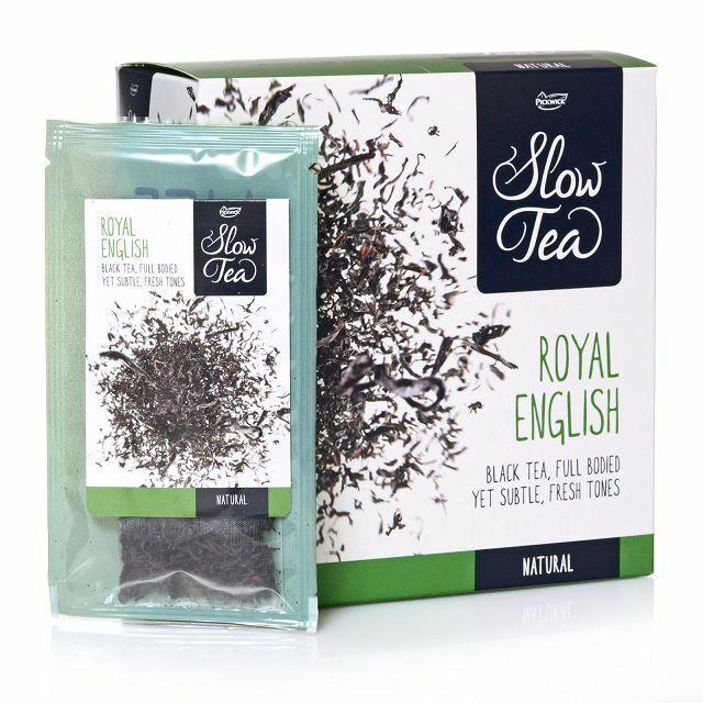 Pickwick Slow Tea Royal English Black Tea Schwarztee 25 x 3g einzeln Kuvertiert