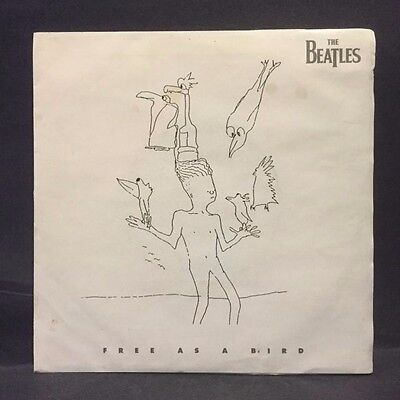 The Beatles Free As a Bird 45rpm w/ PS NM Condition Unused STORE STOCK! Xmastime