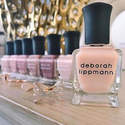 Deborah Lippmann Iconic Treatment Enriched Nail Polish Full Size  5Oz Pick Color