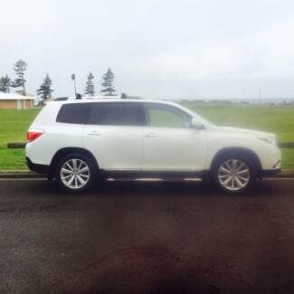 2012 Toyota Kluger Wagon Woonona Wollongong Area Preview
