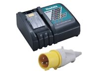 brand new MAKITA battery CHARGER 110V RAPID CHARGE SITE USE