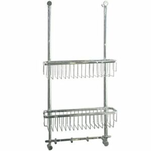 Laloo 9111C Hanging Wire Basket Chrome