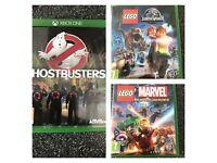 Three Xbox one games