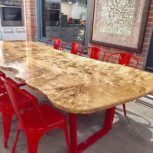 BEAUTIFUL LIVE EDGE DINING ROOM TABLES