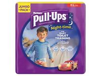 Huggies Pull-Ups Night Time Potty Training Pants for Boys - Large 16-23 kg
