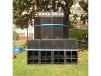4x shortman full scoop bins loaded with turbomax 1800i