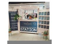 Retail Assistant / Maker for Pop Up Personalisation Station