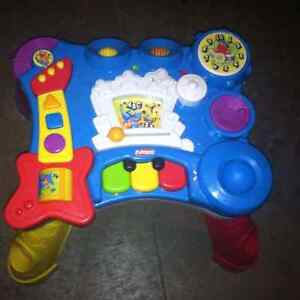 Playskool music center