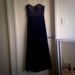 Black strapless formal dress Sumner Brisbane South West Preview