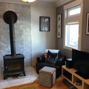 Beautiful 2 bedroom house in funky Agricola neighbourhood!