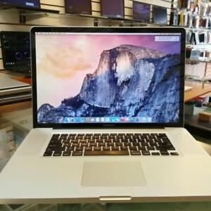 "MacBook Pro Intel C2D 17 "" 2.8 GHZ CPU 8 GB RAM 500 GB HD"