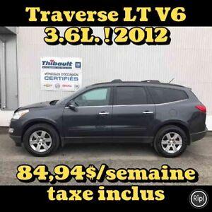 2012 CHEVROLET TRAVERSE LT LT