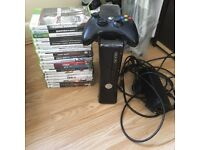 Xbox 360 Elite Black + 19 Games Bundle