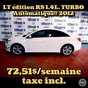 2012 CHEVROLET CRUZE LT TURBO RS AUTOMATIQUE