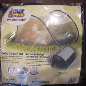 NEW IN PACKAGE JOLLY JUMPER WEATHERSAFE BABY INSECT TENT