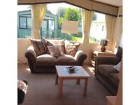 Static Caravan Holiday home for sale on Glasson Marina Lancashire fees included in price 12 month